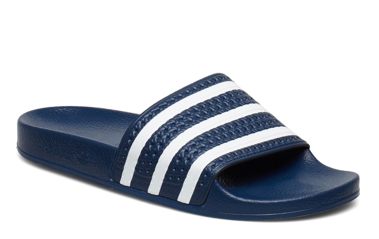 adidas Originals ADILETTE - ADIBLU/WHITE/ADIBLU