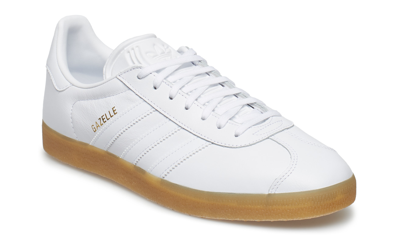 adidas Originals GAZELLE - FTWWHT/FTWWHT/GUM4