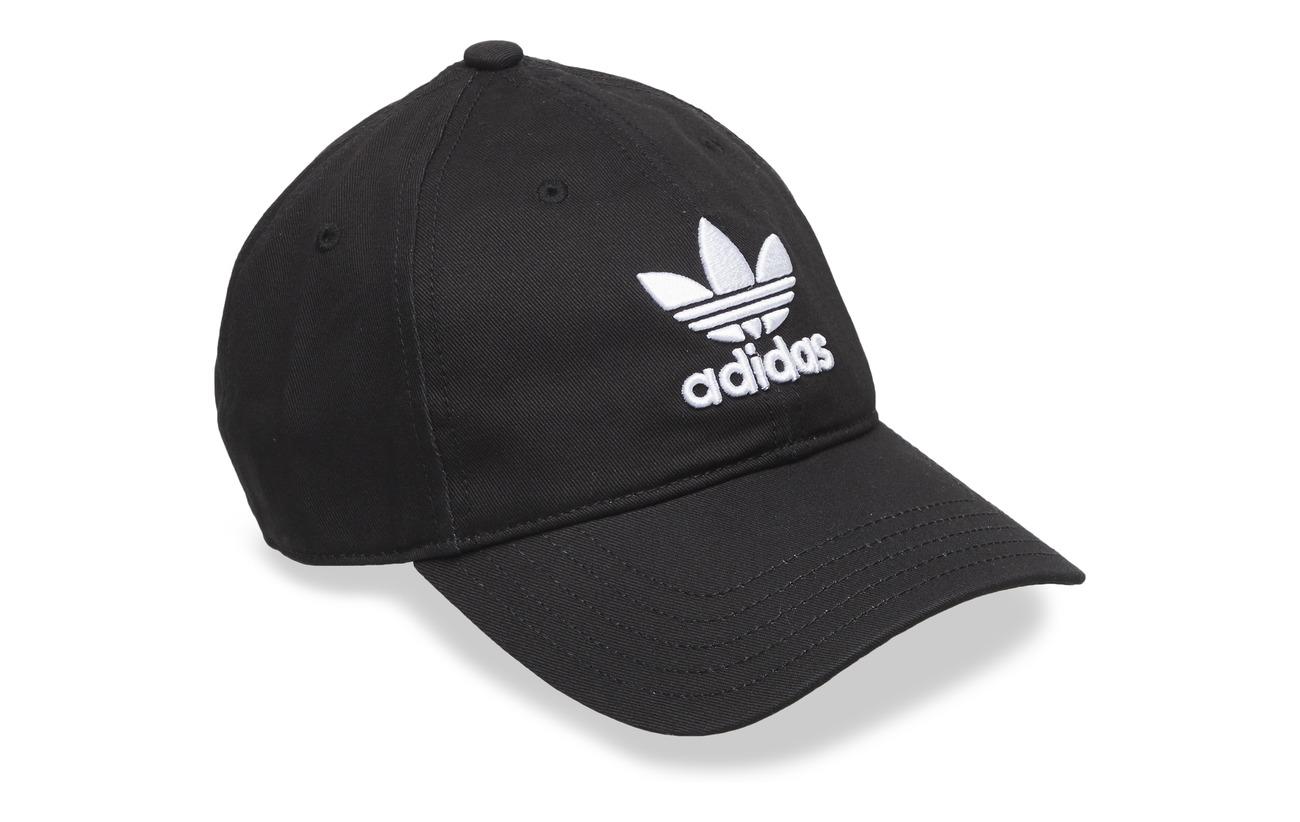 new concept 7dd9f 387a9 ... black for men lyst 1ba8f bdf6f  official store adidas originals trefoil  cap e428f 649ba