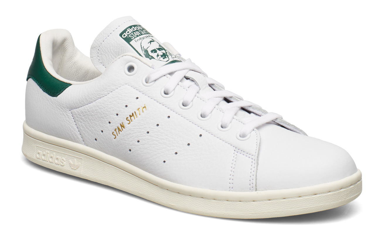 adidas Originals STAN SMITH - FTWWHT/FTWWHT/CGREEN