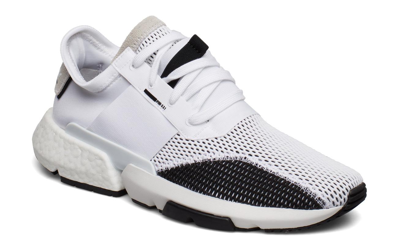 adidas Originals POD-S3.1 - FTWWHT/FTWWHT/CBLACK
