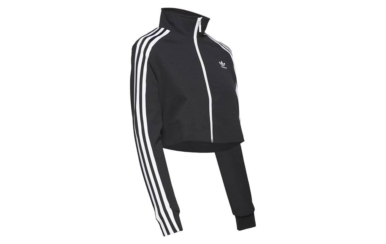 Track Coton 43 57 Top Adidas Originals Black Polyester vqp55w