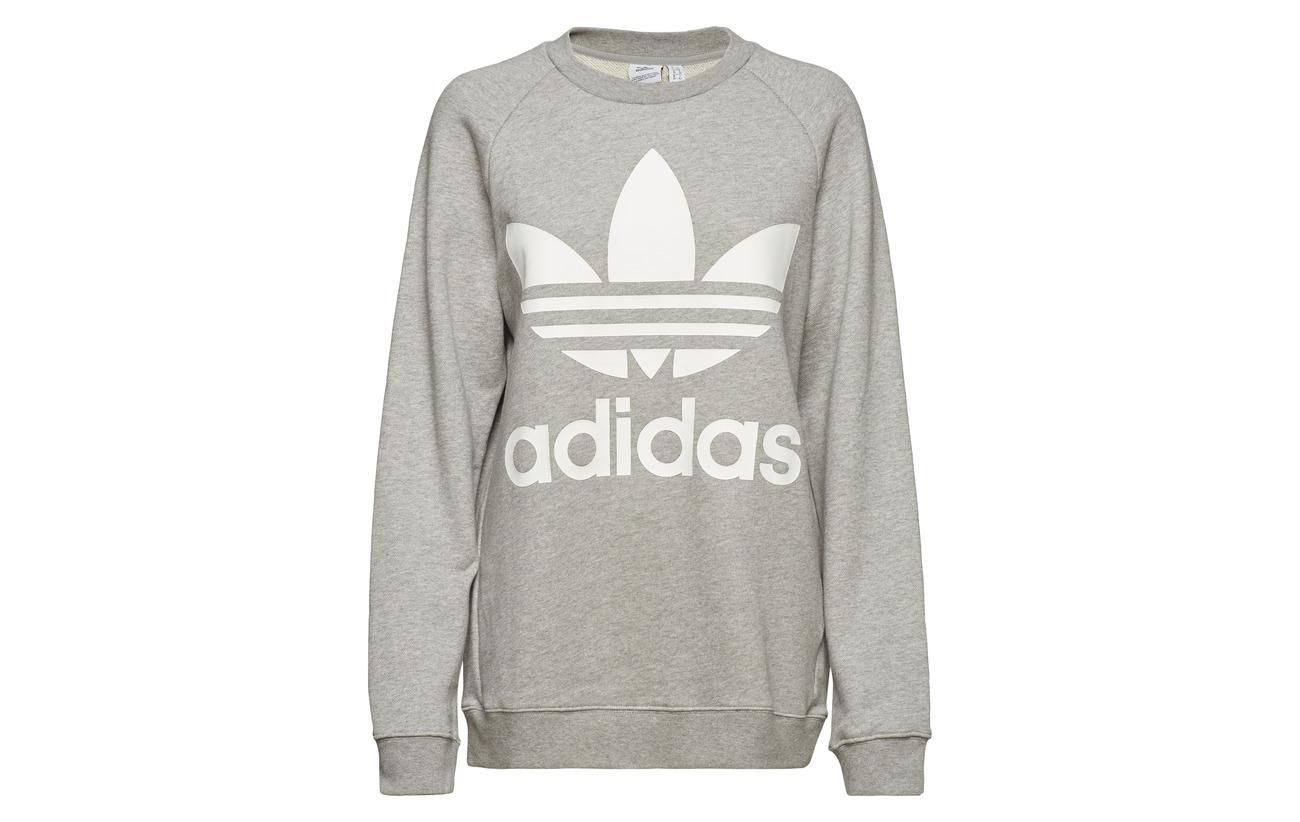 Sweat Adidas 100 Coton Mgreyh Oversized Originals qEEHZ7