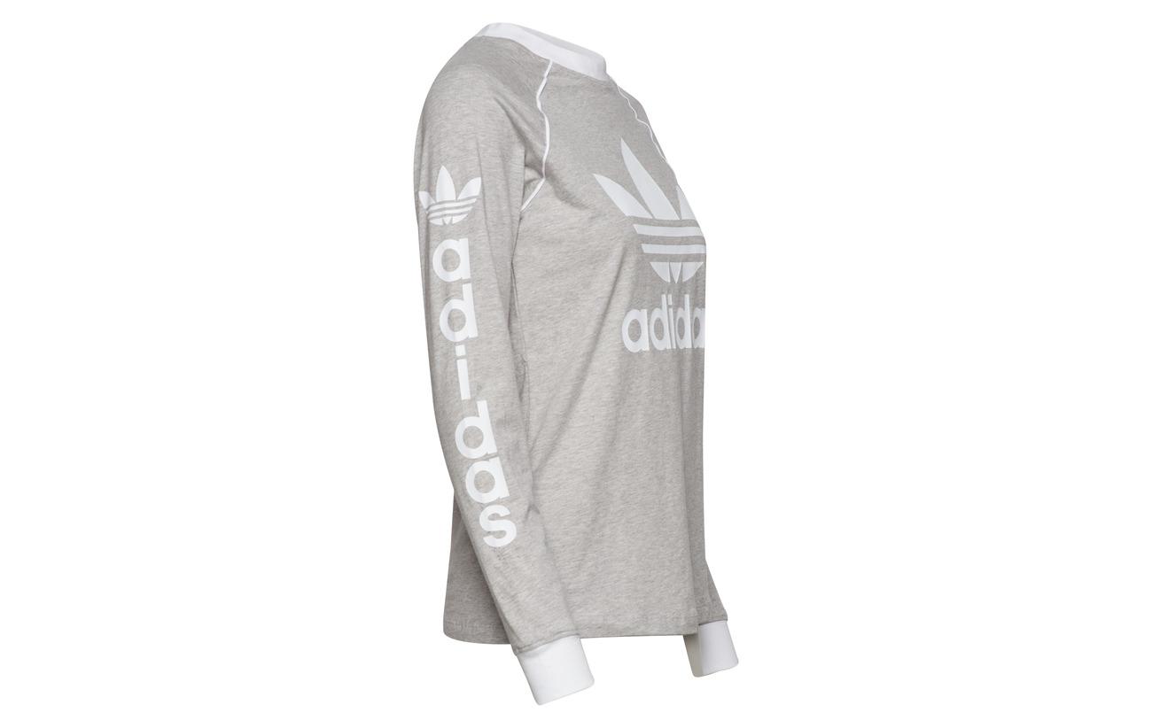 Longsleeve 100 Adidas Mgreyh Og Coton Originals q6wBYwp