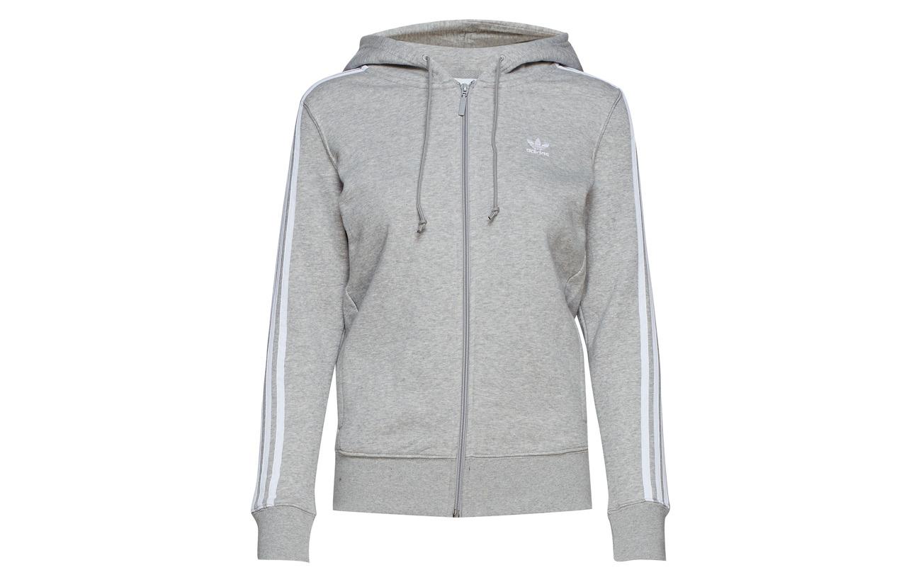 30 Recyclé Polyester Hoodie 3str Adidas 70 Zip Originals Coton Mgreyh 0qq7OW8w