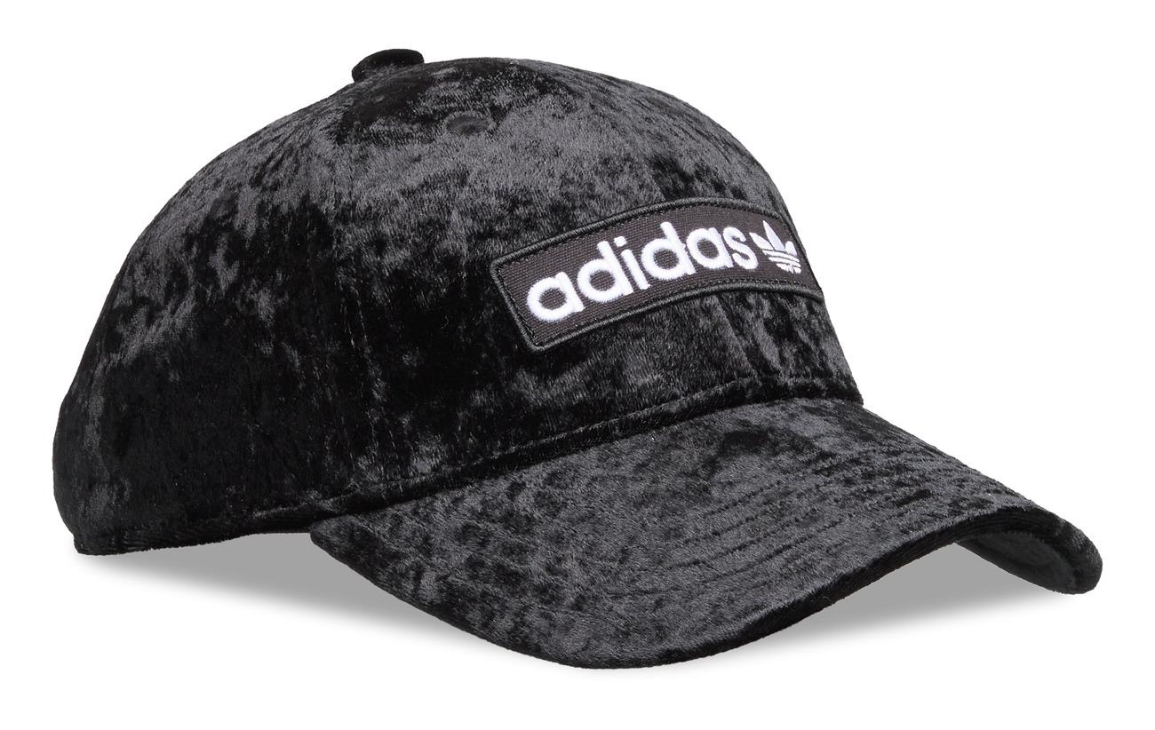 adidas Originals BASEBALL CAP - BLACK/WHITE