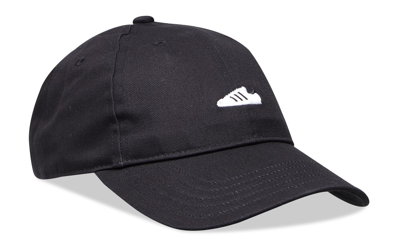 adidas Originals SUPER CAP - BLACK/WHITE