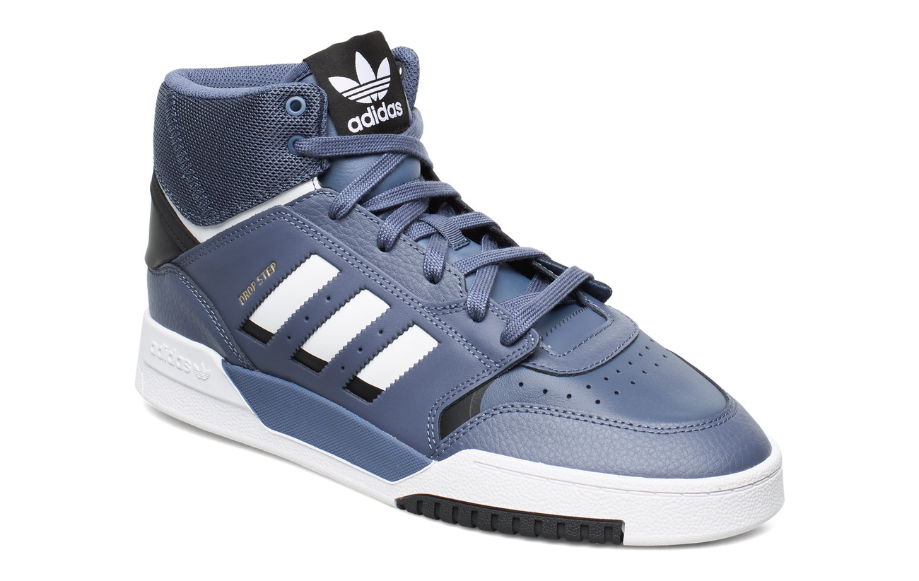 adidas Originals DROP STEP - TECINK/FTWWHT/COGOLD