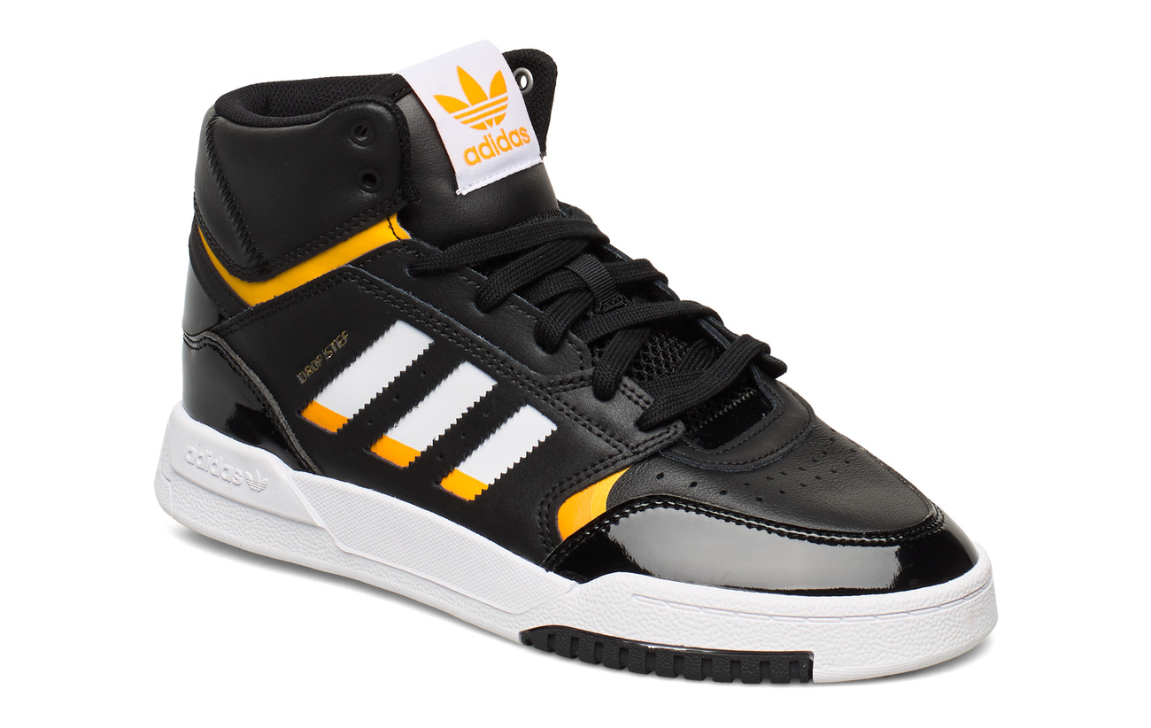 adidas Originals DROP STEP W - CBLACK/FTWWHT/COGOLD