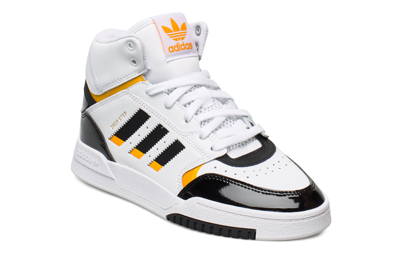 adidas Originals DROP STEP W - FTWWHT/CBLACK/COGOLD