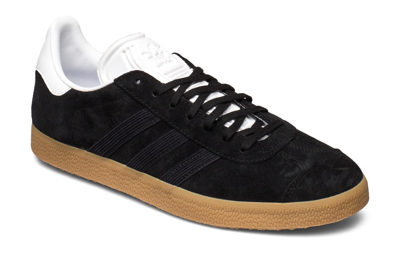 adidas Originals GAZELLE - CBLACK/CBLACK/FTWWHT