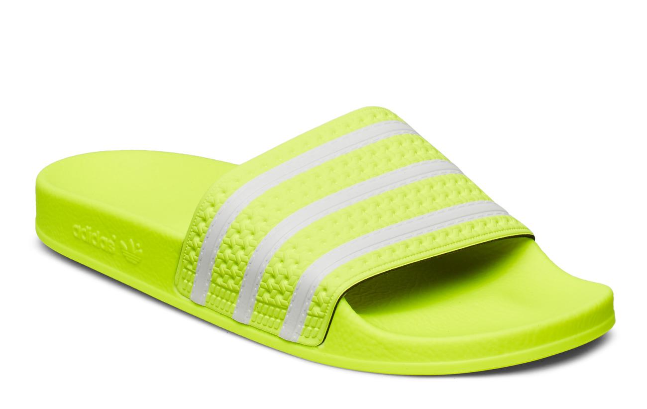 adidas Originals ADILETTE - SYELLO/FTWWHT/SYELLO