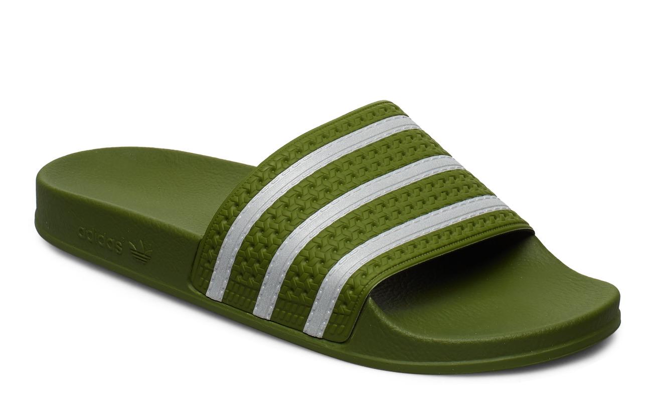 adidas Originals ADILETTE - TECOLI/FTWWHT/TECOLI