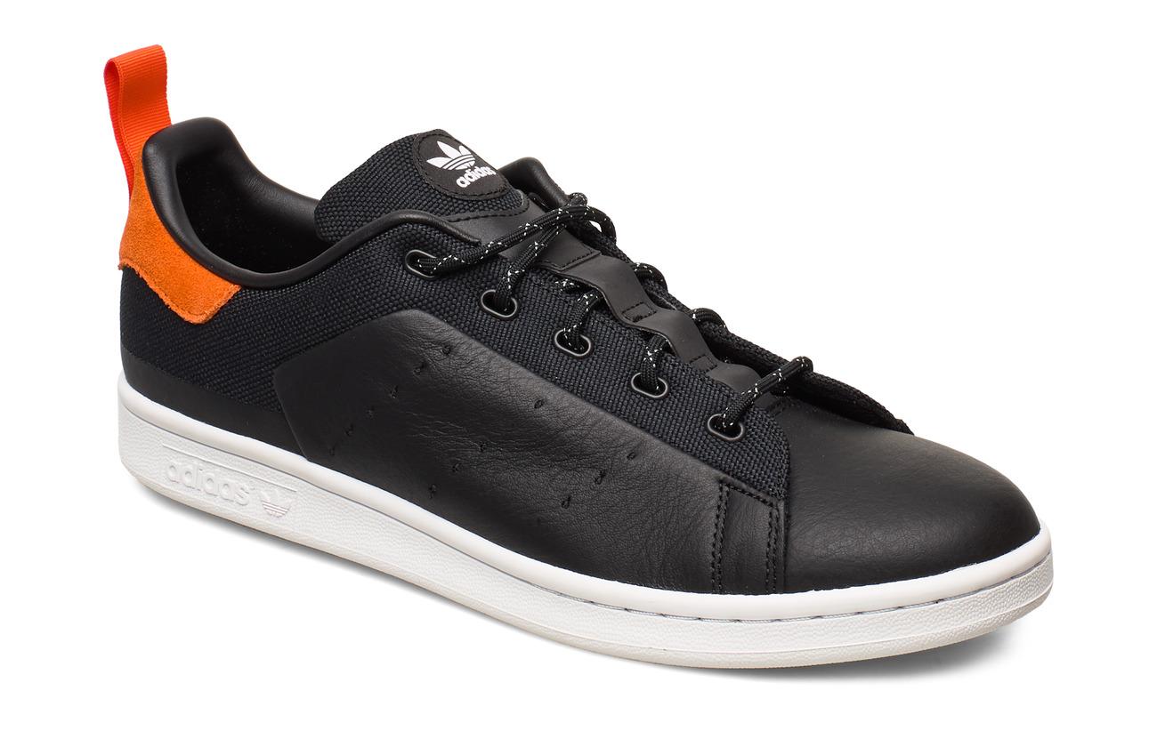 adidas Originals STAN SMITH - CBLACK/CBLACK/OWHITE