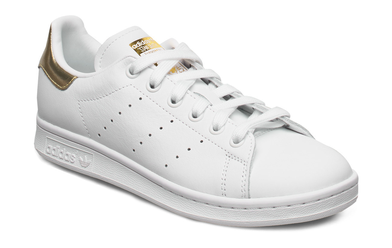 adidas Originals STAN SMITH W - FTWWHT/FTWWHT/GOLDMT