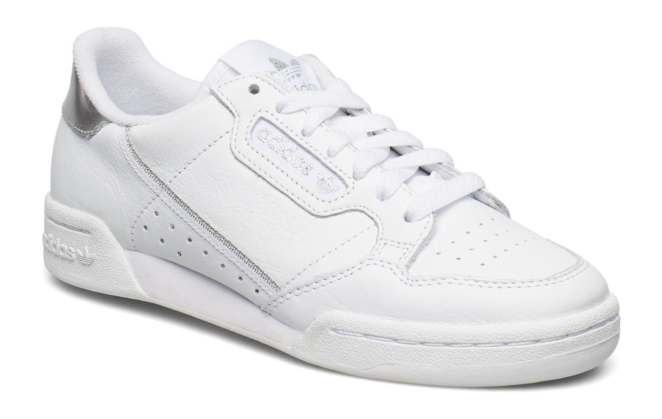 adidas Originals CONTINENTAL 80 W - FTWWHT/FTWWHT/SILVMT