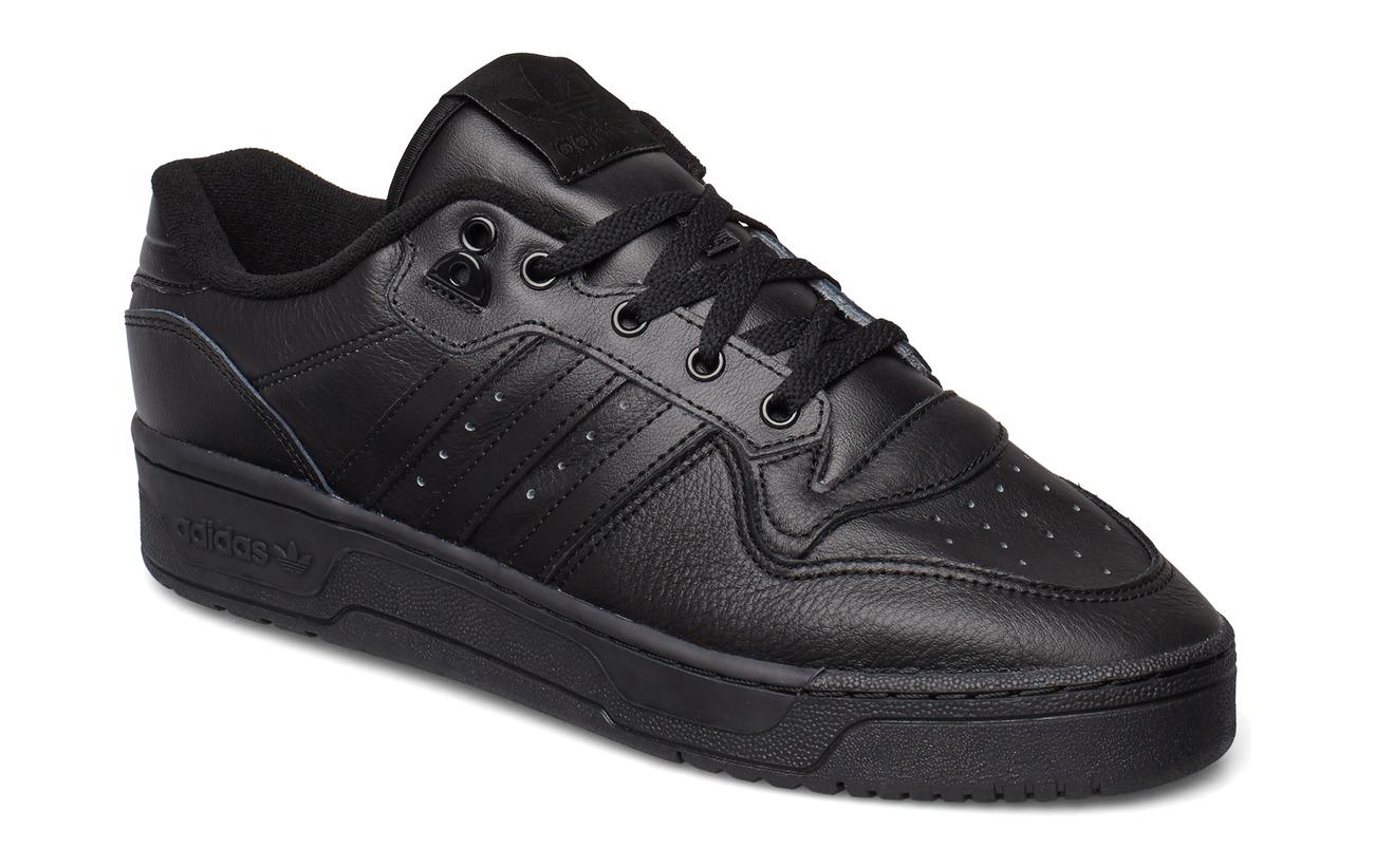 adidas Originals RIVALRY LOW - CBLACK/CBLACK/FTWWHT