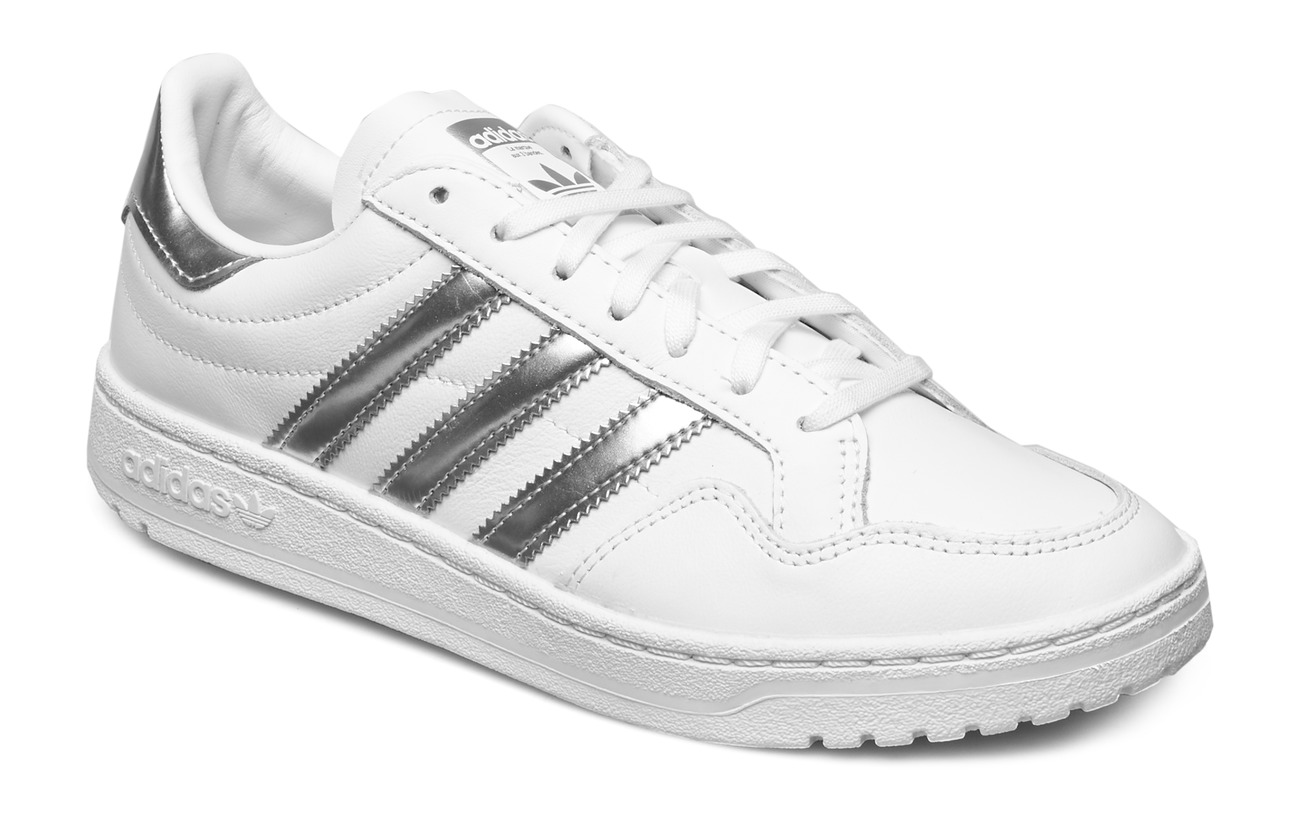 adidas Originals TEAM COURT W - FTWWHT/SILVMT/FTWWHT