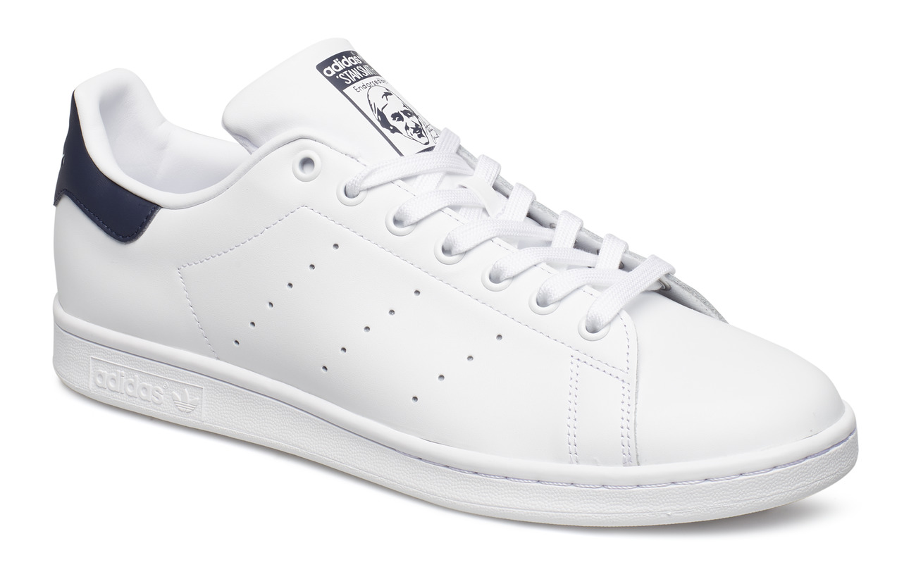 adidas Originals STAN SMITH - CWHITE/CWHITE/DKBLUE