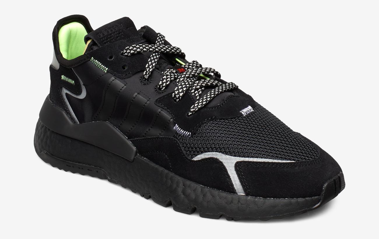 adidas Originals Nite Jogger Cblackcblackcarbon Mænd Sport