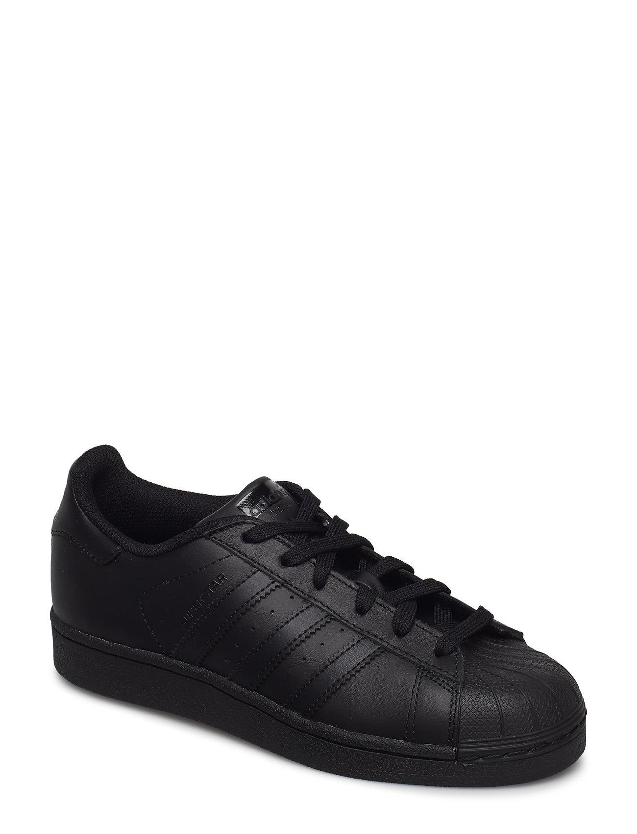 adidas Originals Superstar J - CBLACK/CBLACK/CBLACK