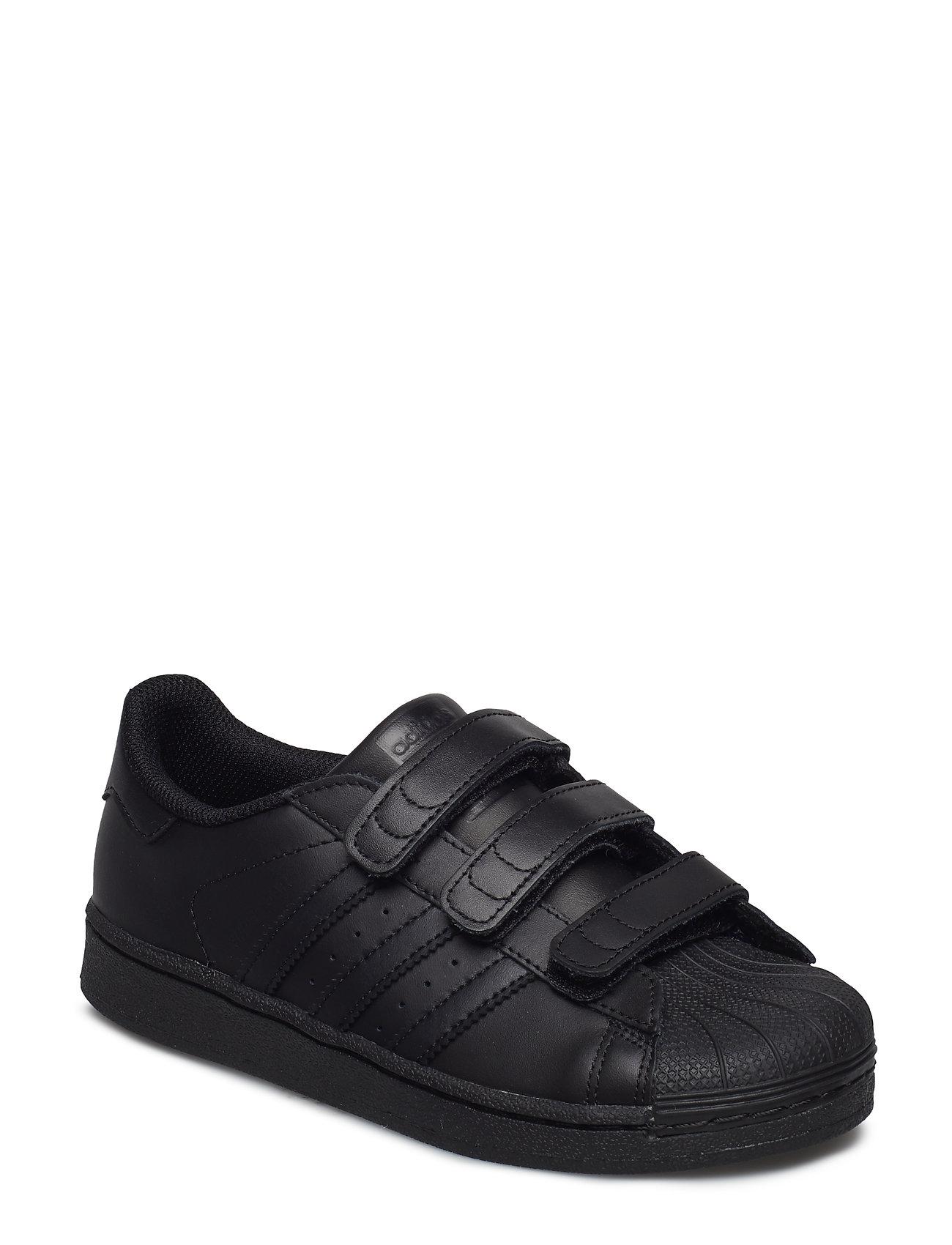 adidas Originals Superstar CF C - CBLACK/CBLACK/CBLACK