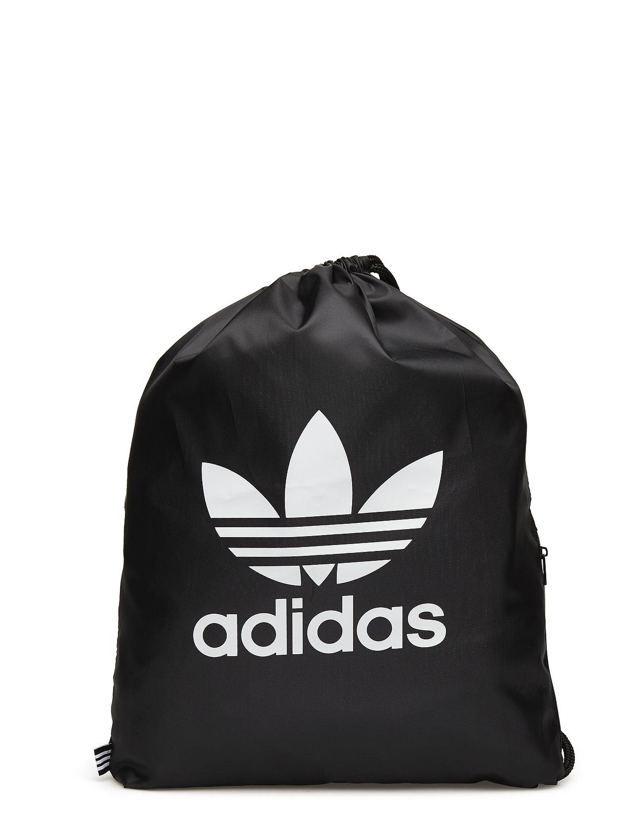adidas Originals GYMSACK TREFOIL - BLACK