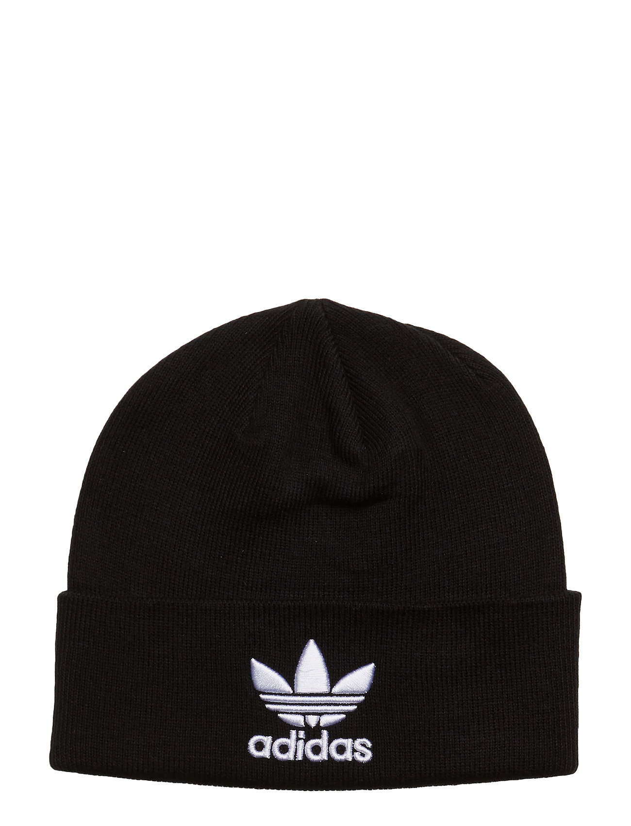 ca47be27 Trefoil Beanie Accessories Hats & Caps Beanies Sort ADIDAS ORIGINALS