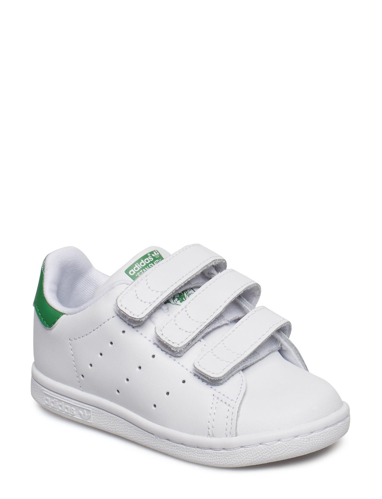 adidas Originals STAN SMITH CF I - FTWWHT/FTWWHT/GREEN