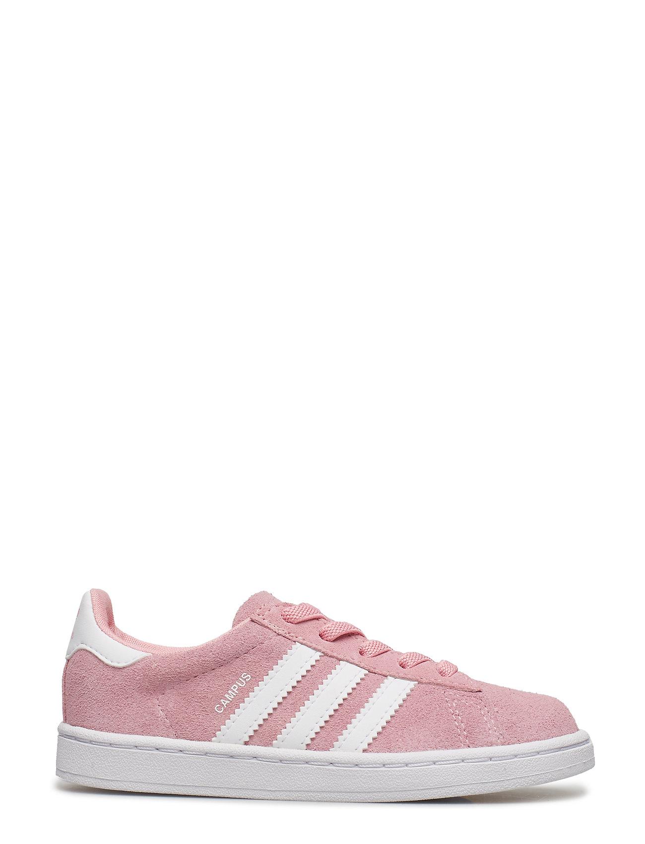 adidas originals Campus J Hvid Børnesko Sneakers [Hvid