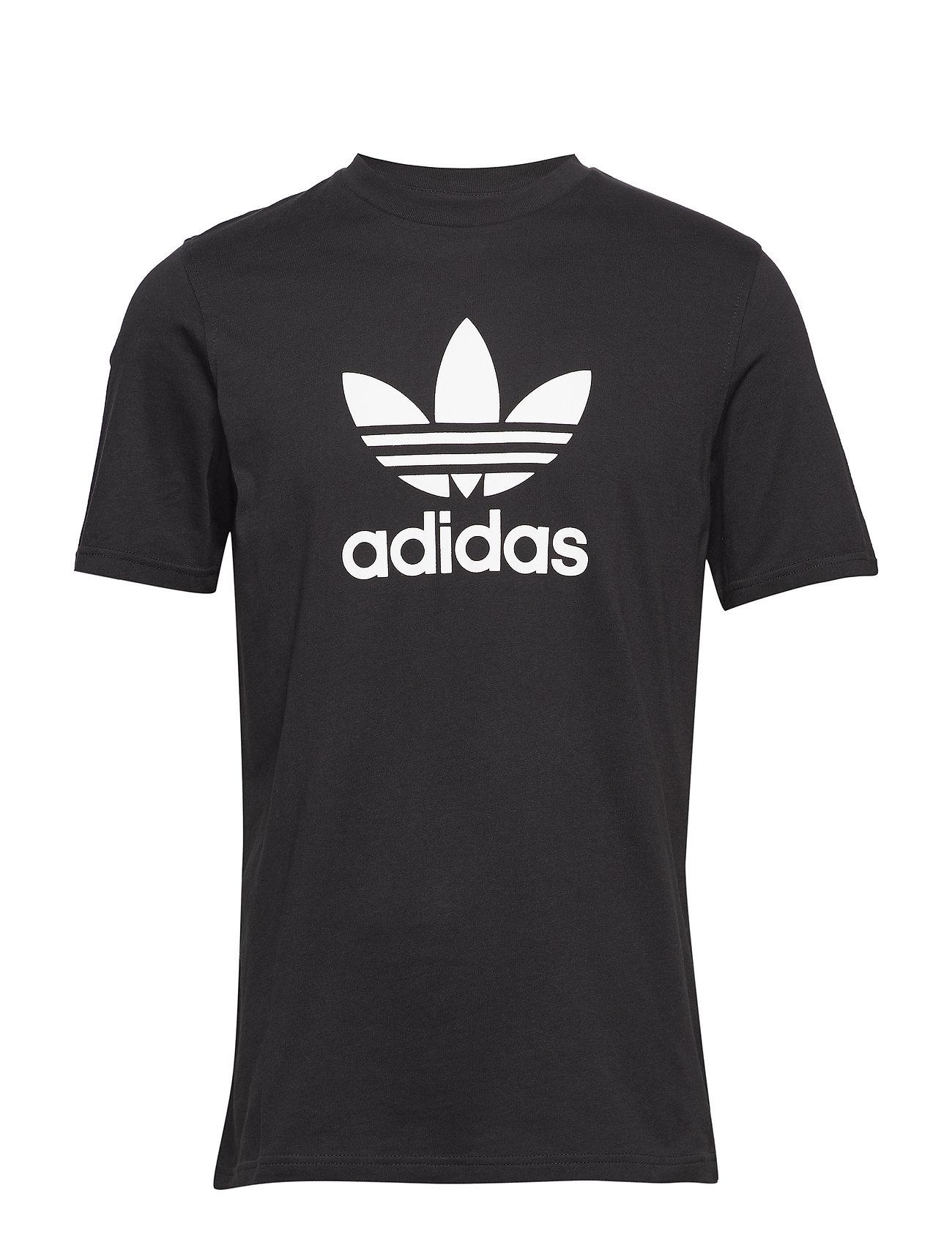 adidas Originals TREFOIL T-SHIRT - BLACK