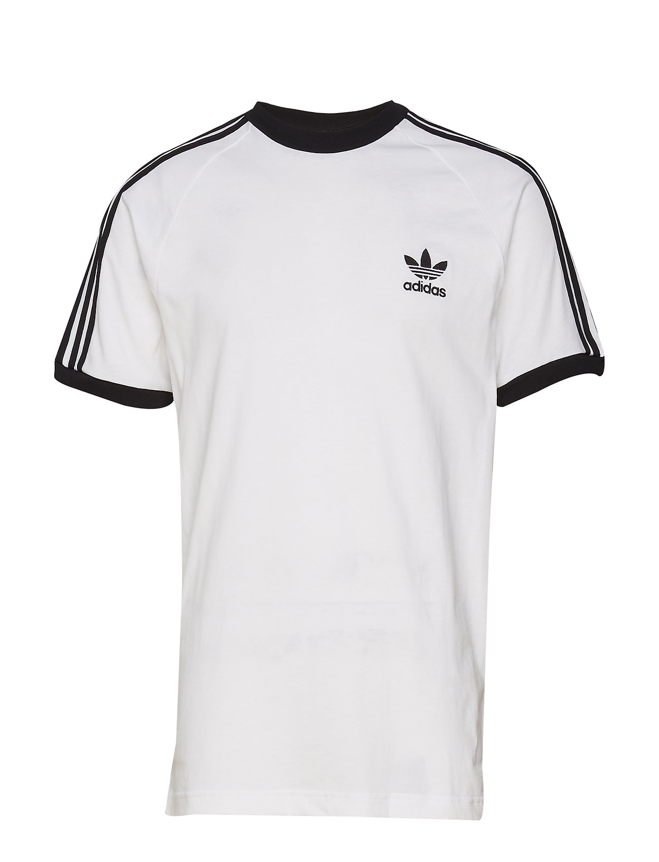 adidas Originals 3-STRIPES TEE - WHITE