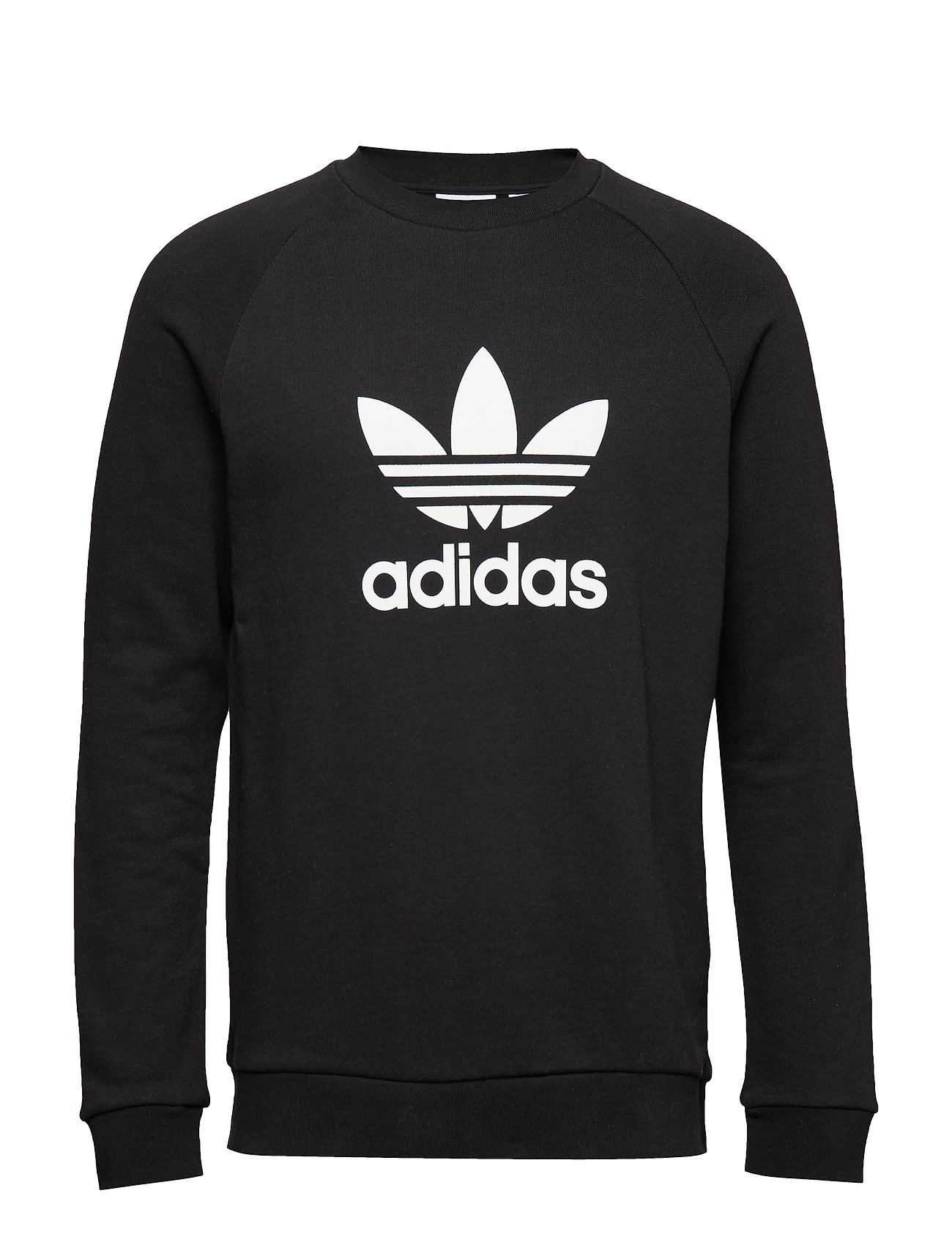 adidas Originals TREFOIL CREW - BLACK