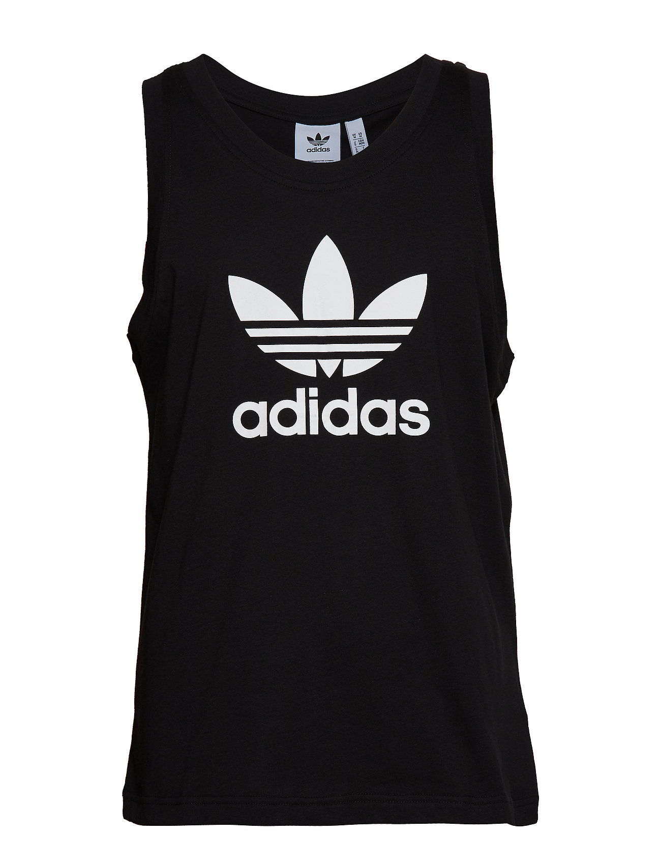 adidas Originals TREFOIL TANK - BLACK