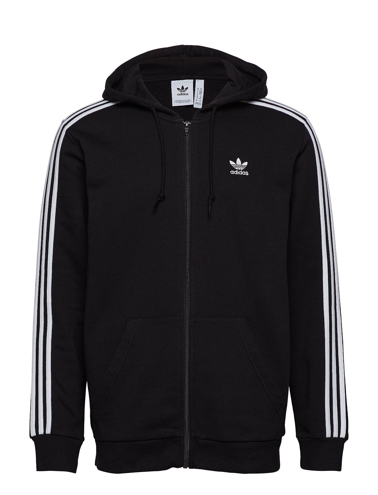 Bluza Adidas Originals 3 Stripes FZ black