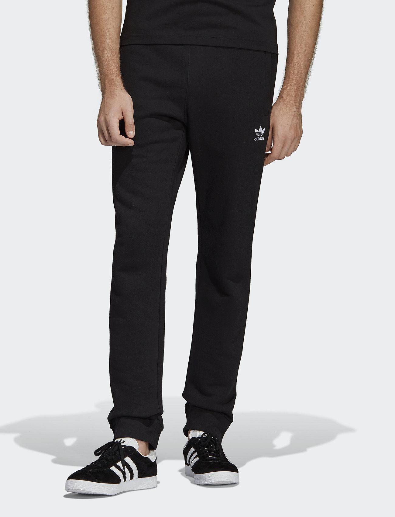 adidas Originals - TREFOIL PANT - treenihousut - black - 0