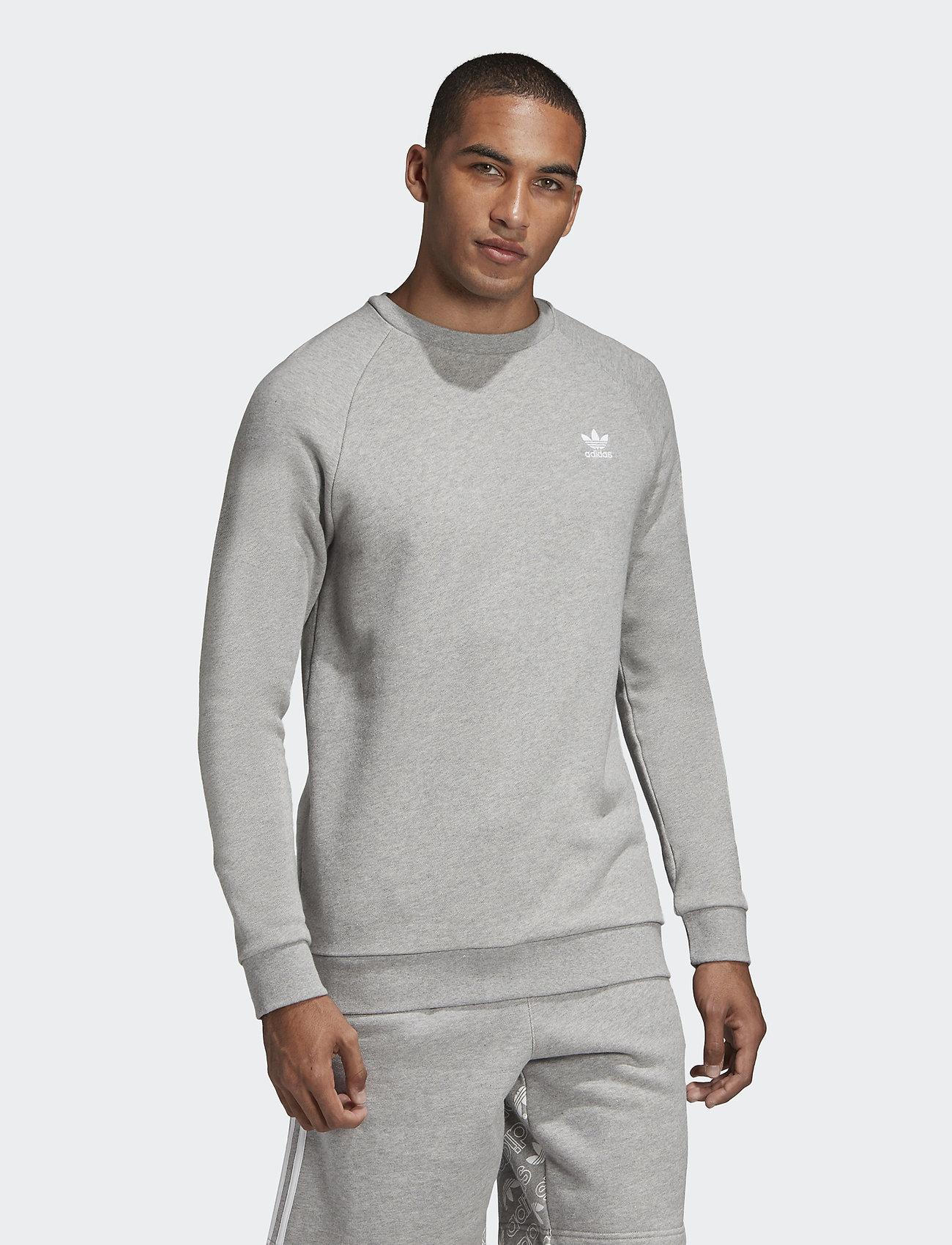 adidas Originals - ESSENTIAL CREW - overdeler - mgreyh - 0