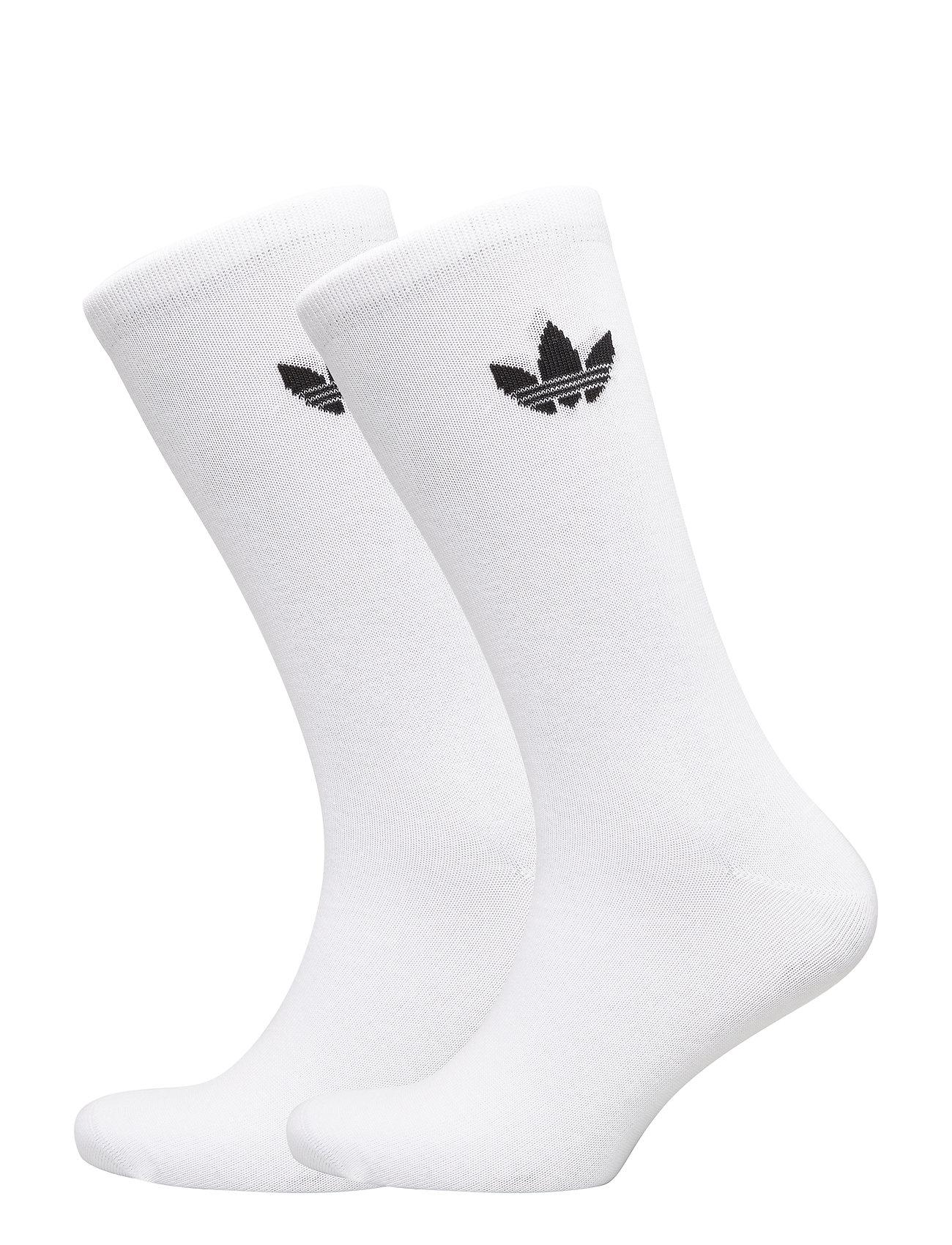 adidas Originals THIN TREF CREW - WHITE/BLACK