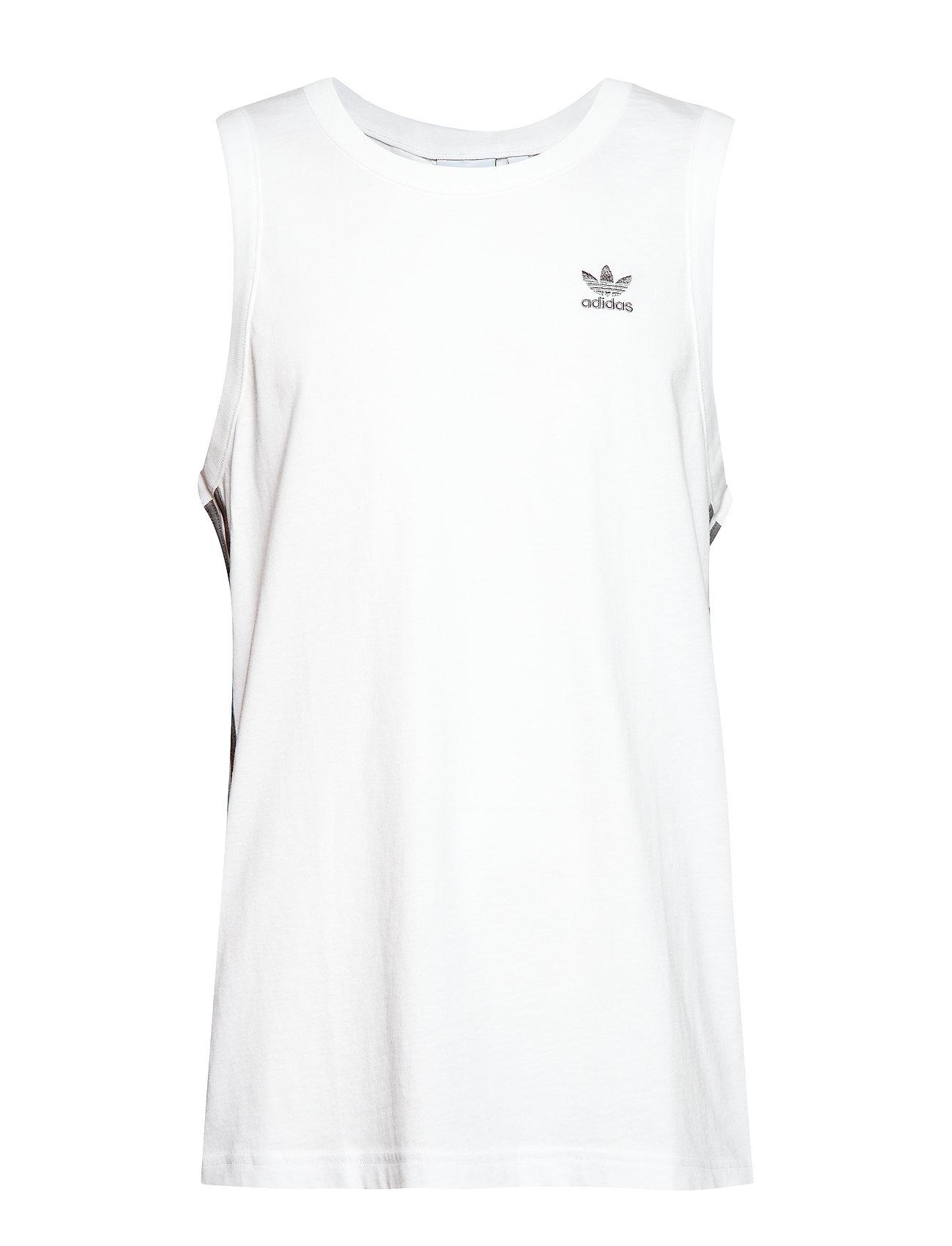 adidas Originals MONOGRAM TANK - WHITE