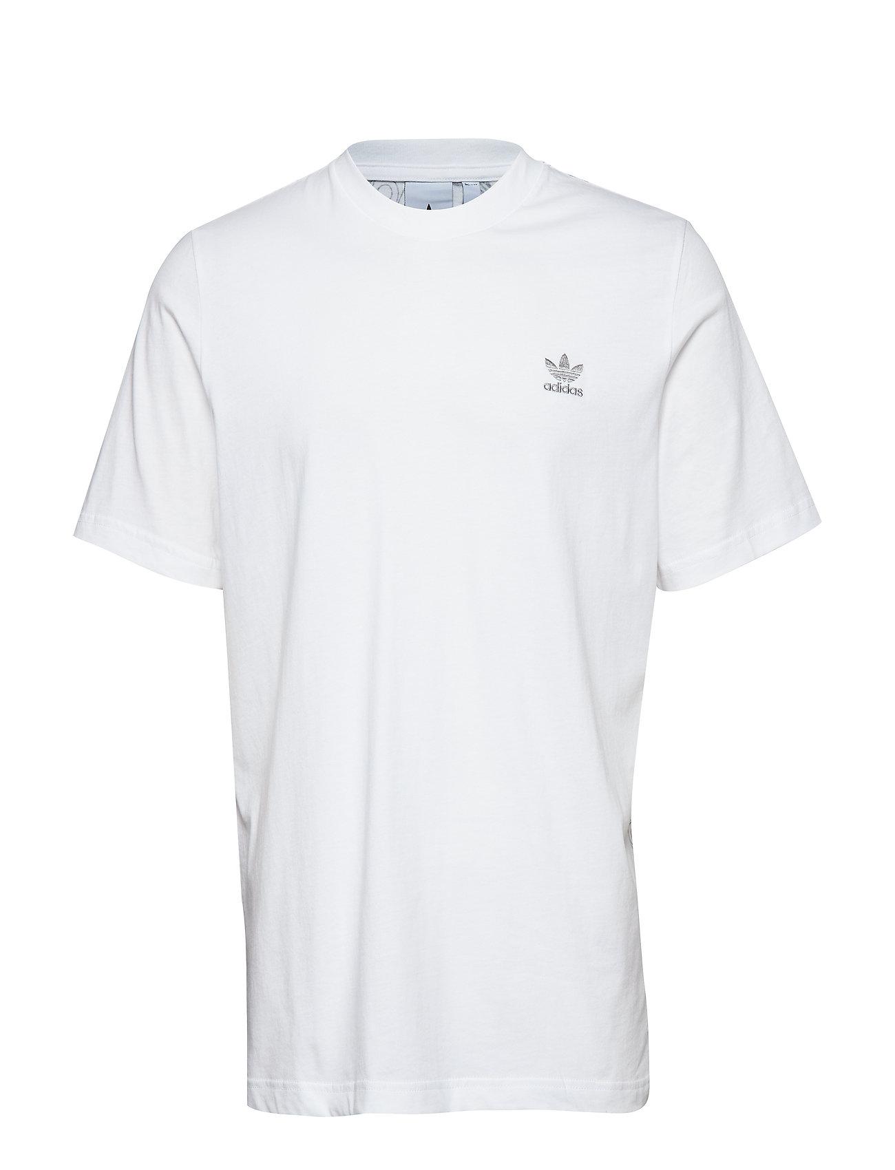 adidas Originals MONOGRAM TEE - WHITE