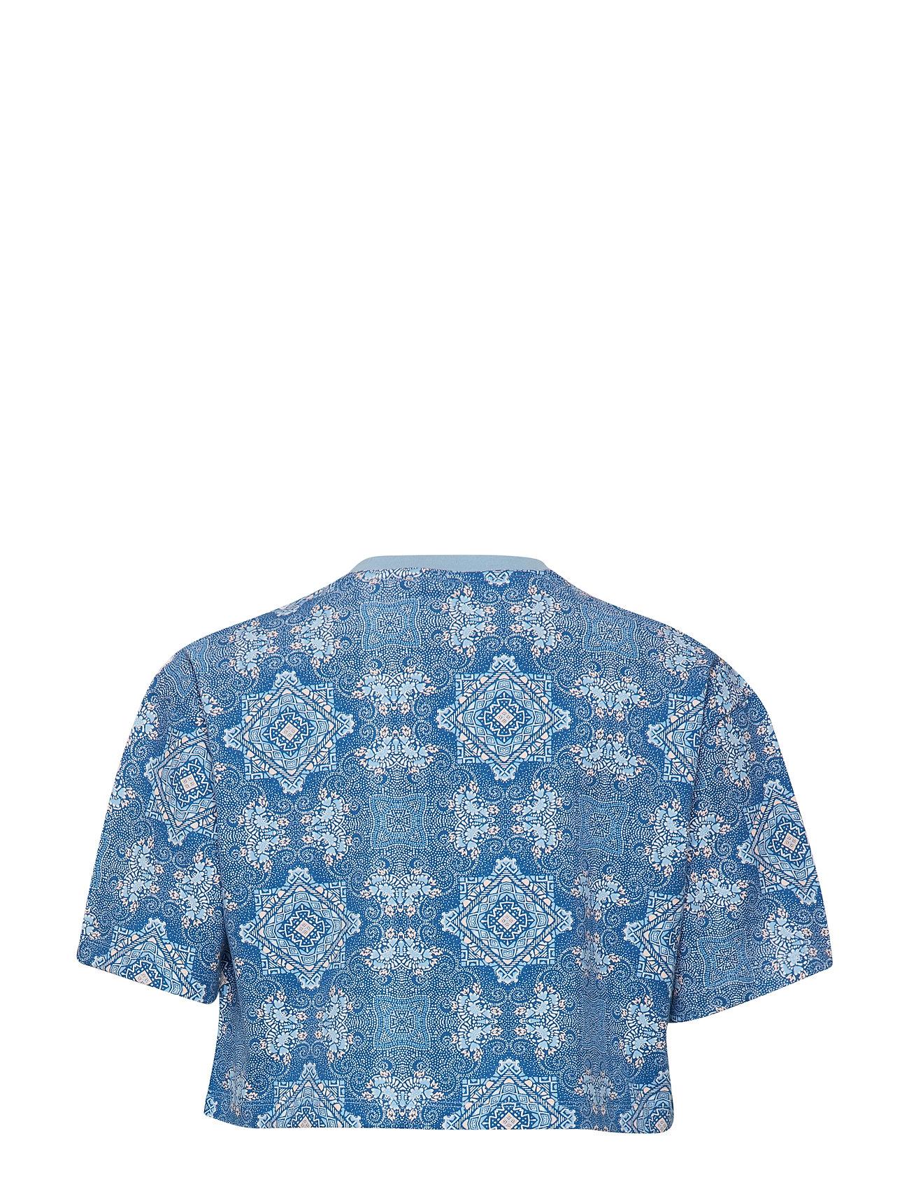 Cc 3stripes Tee T shirt Blå ADIDAS ORIGINALS