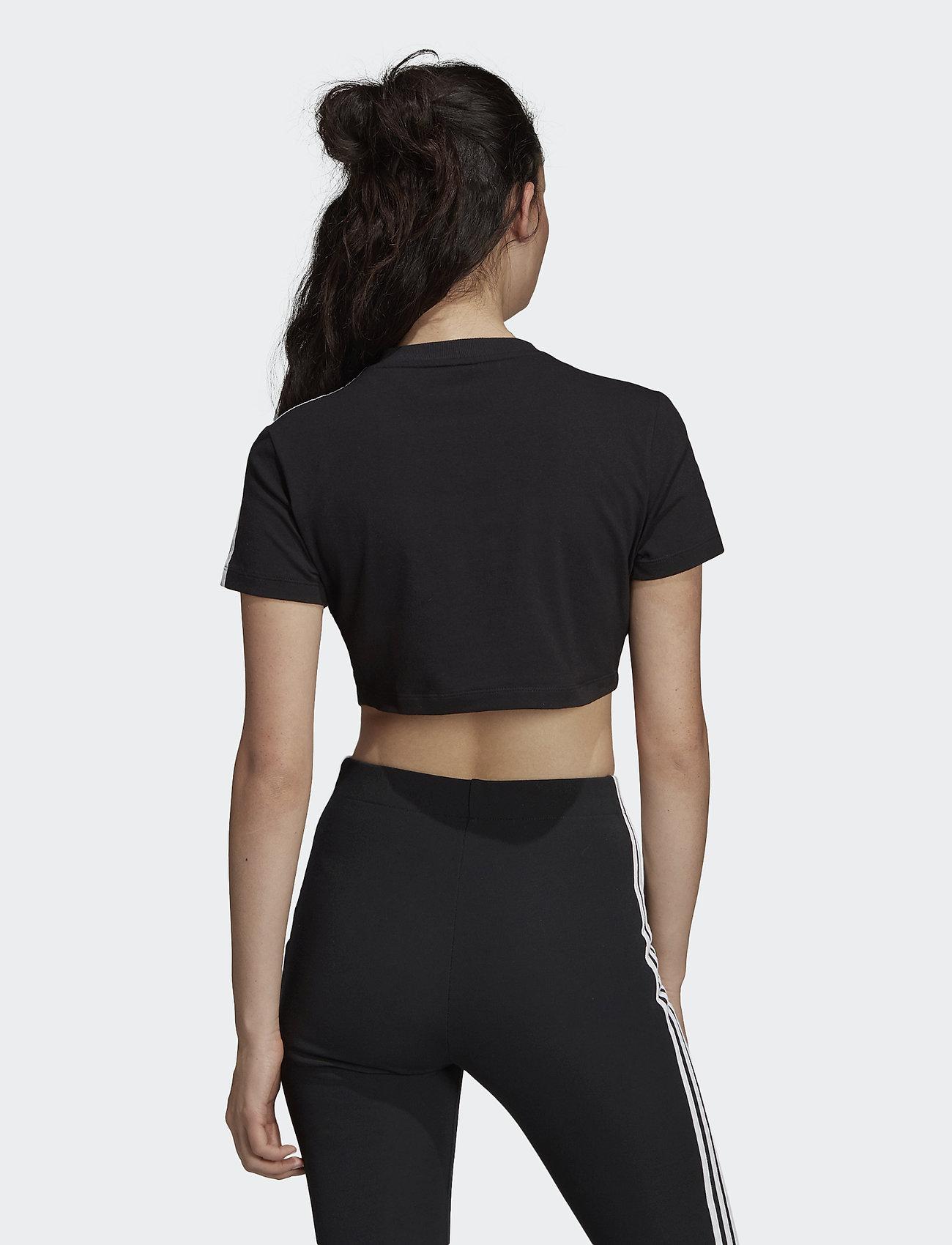 Adidas Originals Cropped Tee - T-shirts & Toppar Black