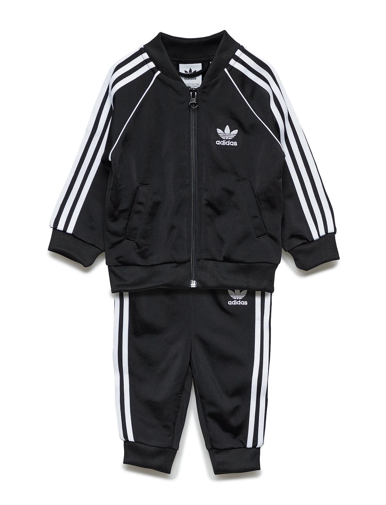 55f39440 Sort Adidas Superstar Suit træningsshorts for børn - Pashion.dk