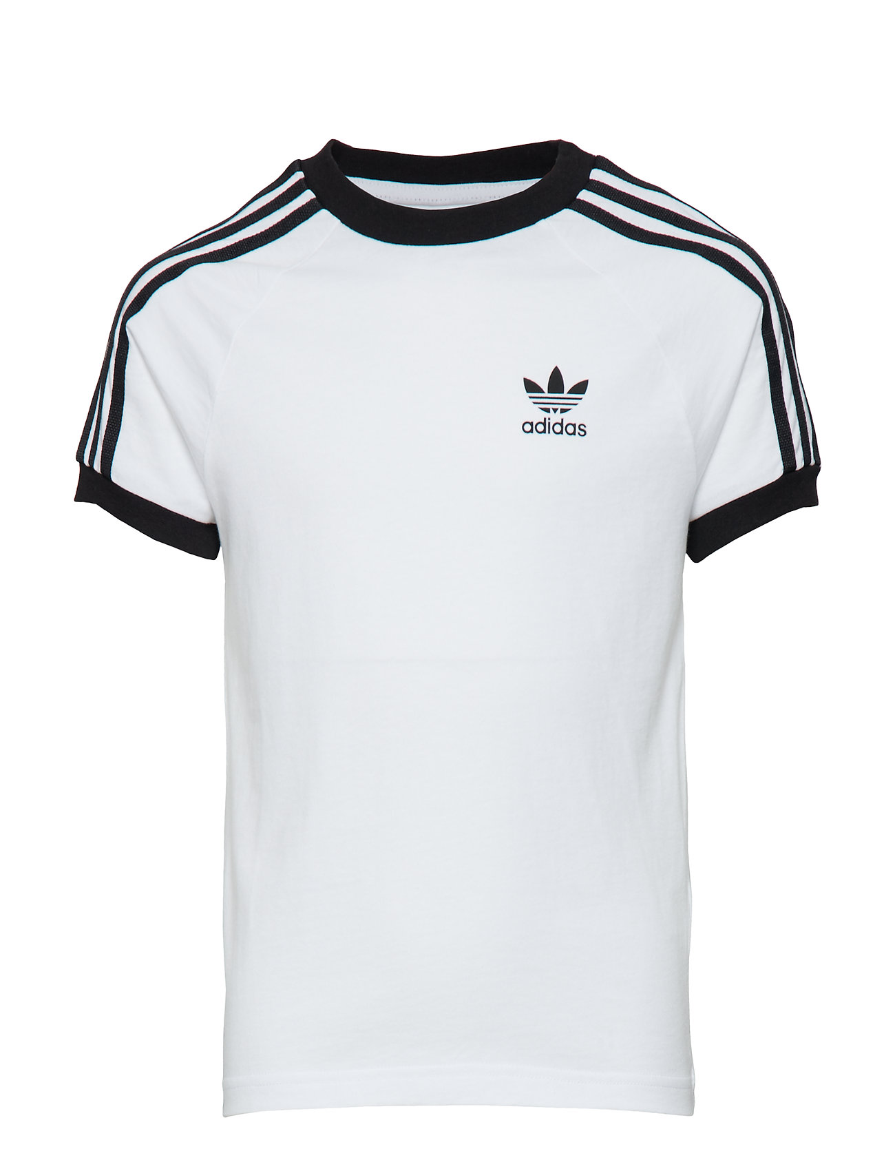 adidas Originals 3STRIPES TEE - WHITE/BLACK