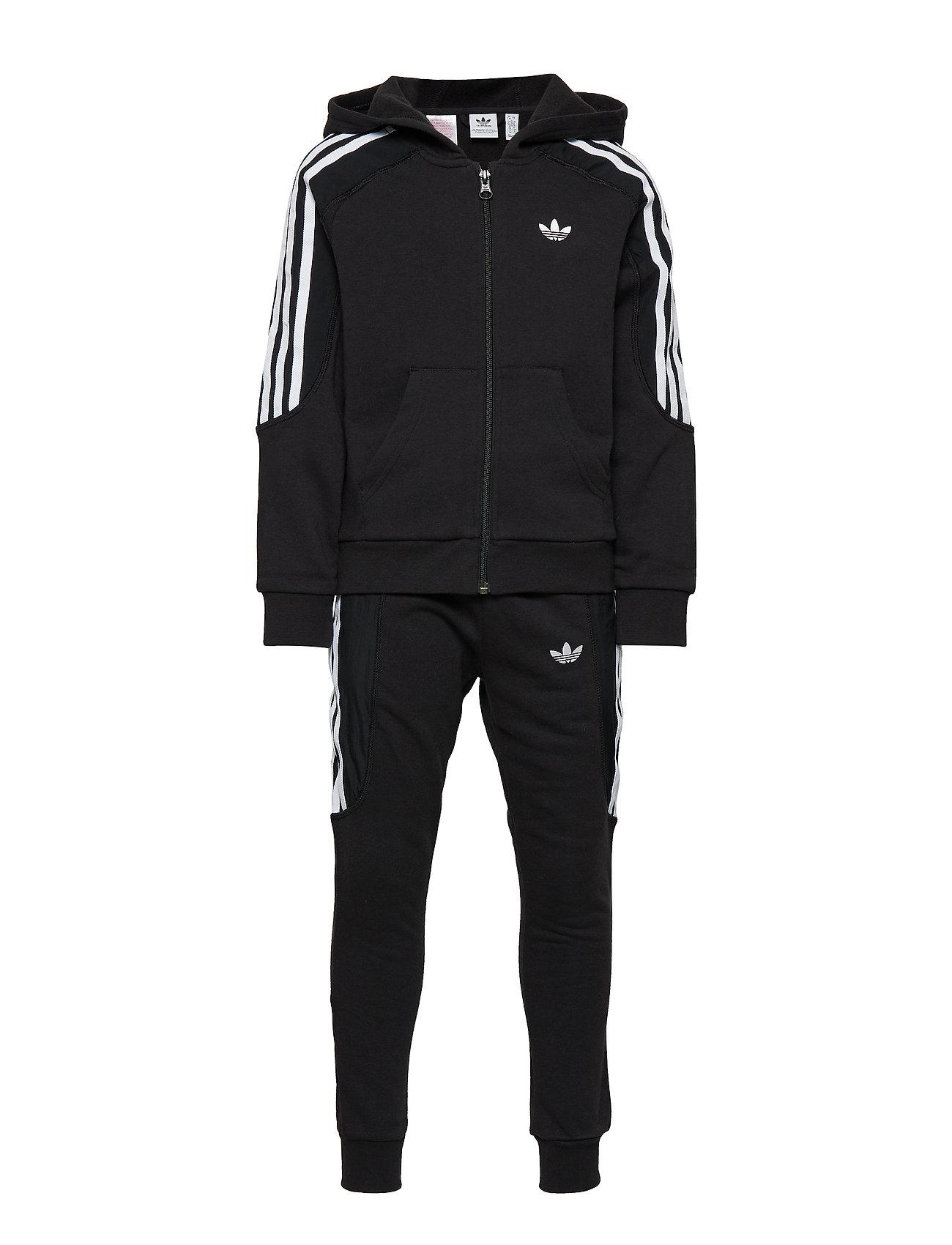 Adidas Radkin Joggedress svart