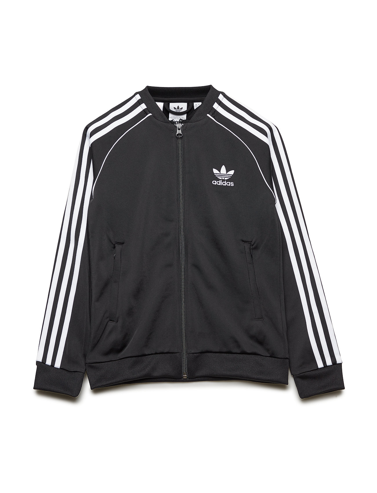 adidas Originals SUPERSTAR TOP - BLACK/WHITE