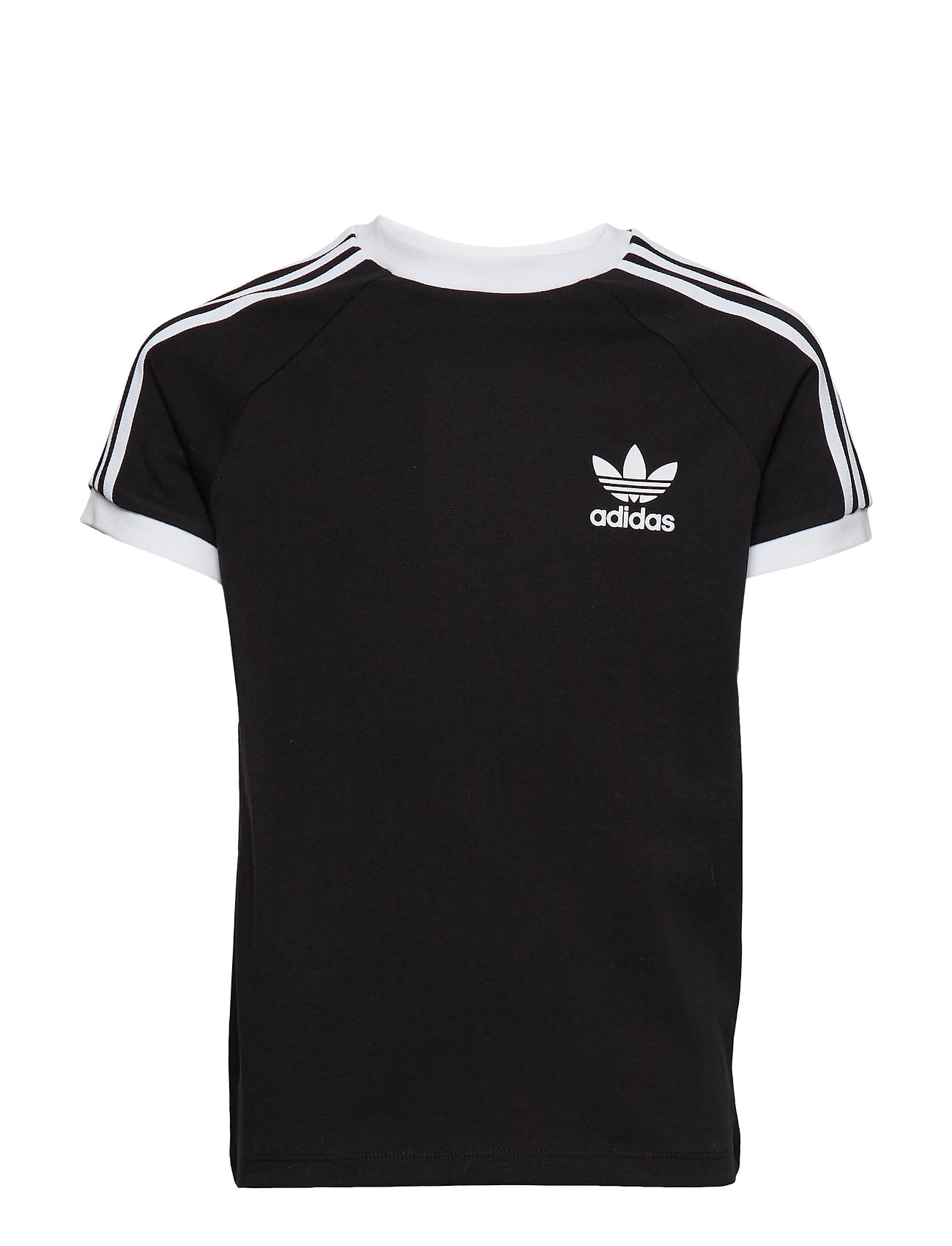 adidas Originals 3STRIPES TEE - BLACK/WHITE