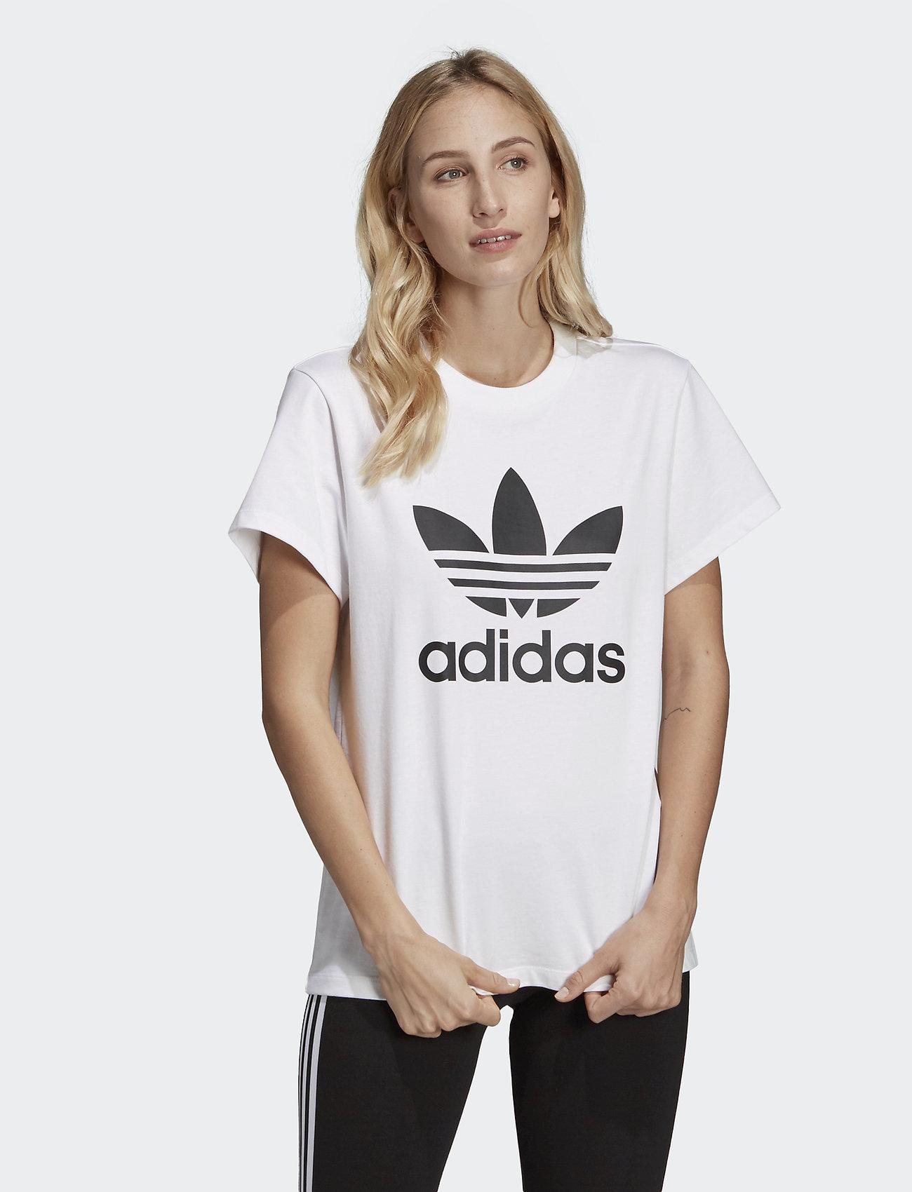 adidas Originals - BOYFRIEND TEE - logo t-shirts - white