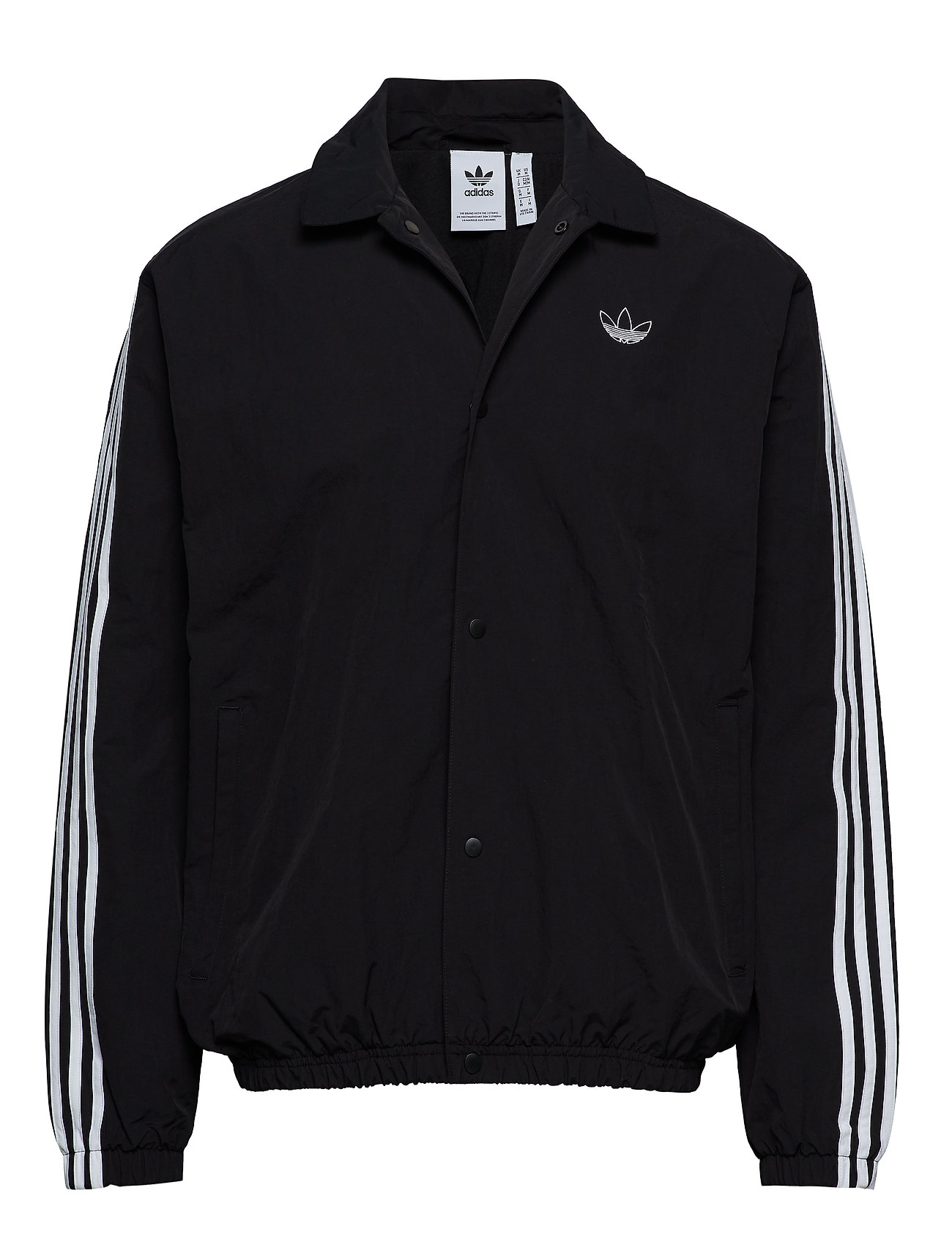Adidas Trefoil Coach Jacket Black | END.