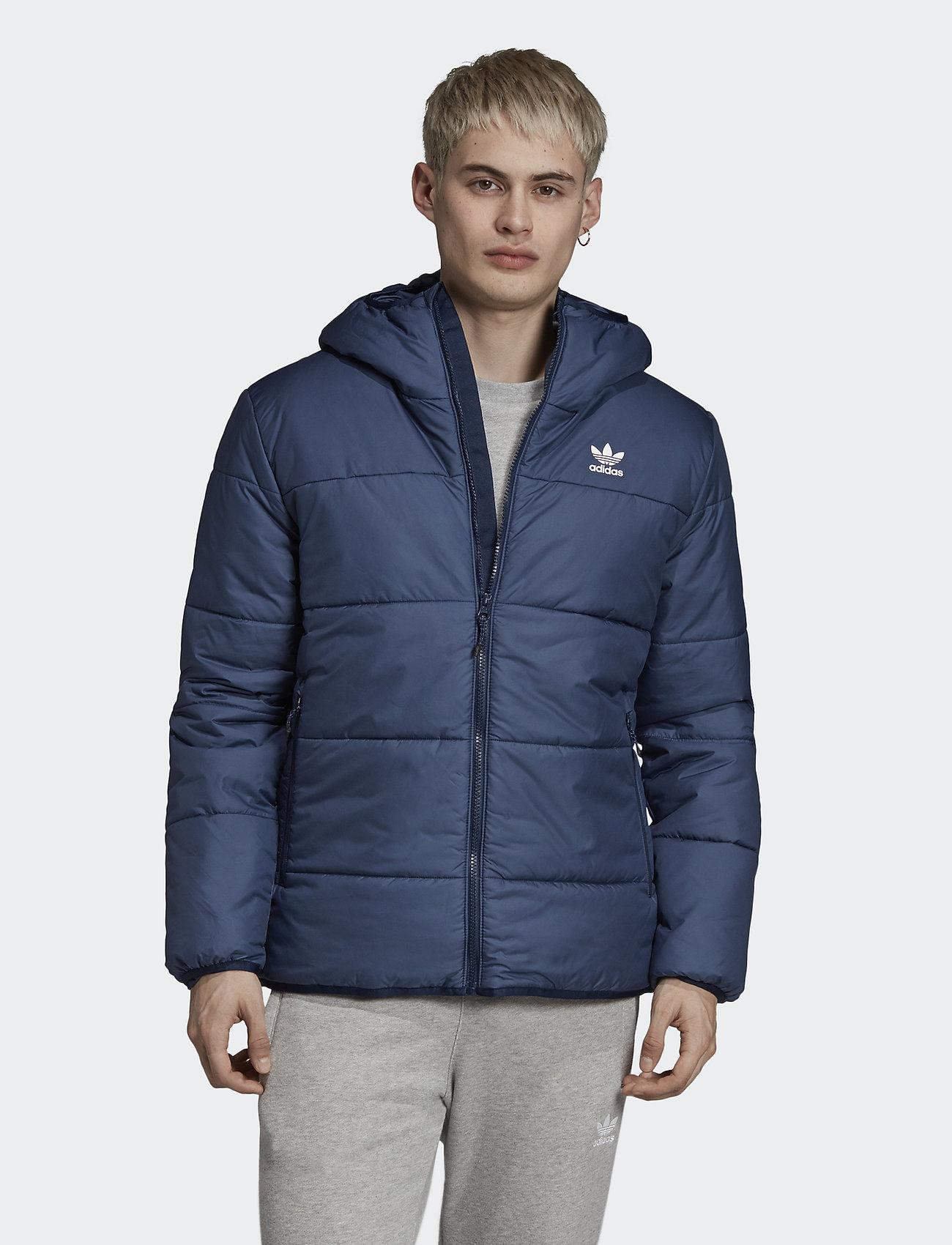 adidas Originals Navy Trefoil Logo Padded Jacket